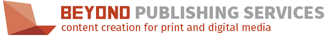 Beyond Publishing Services